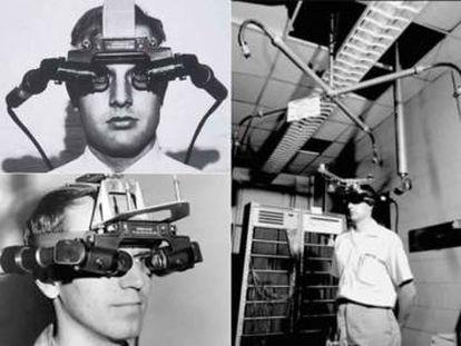 Una imagen del casco de realidad virtual 'La Espada de Damocles'.
