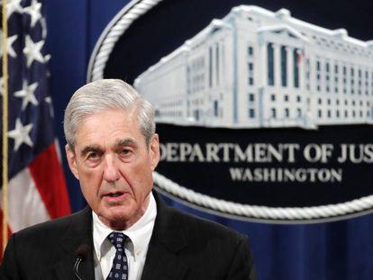 El fiscal Robert S. Mueller, este miércoles.