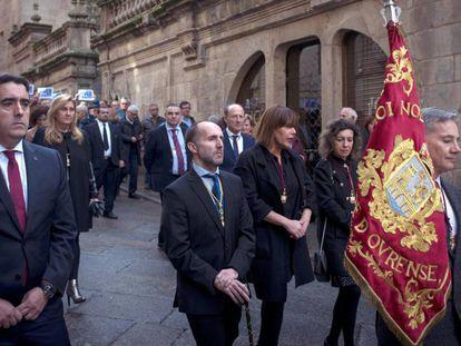 Gonzalo Pérez Jácome, a la izquierda, el pasado 11 de noviembre. En vídeo, algunas de las declaraciones polémicas del regidor.