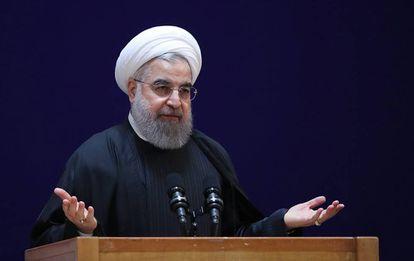 Presidente Hassan Rouhani.