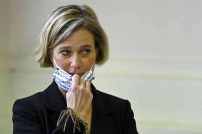 Delphine Boël, la artista belga que ha sido reconocida como hija del rey Alberto II, en una imagen del pasado día 10, en Bruselas.