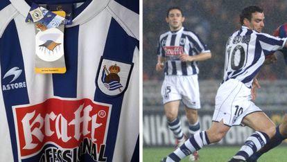 De Pedro, a la derecha de la imagen, se convirtió en uno de los jugadores emblemáticos de la historia reciente del club guipuzcoano.