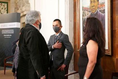 Evento en el que el Gobierno de México pidió perdón a Arturo Medina Vela.