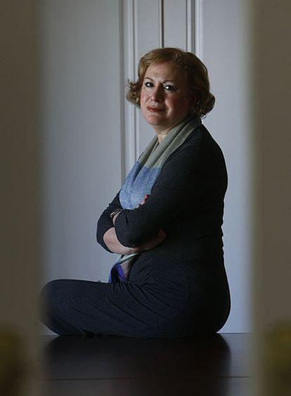 Ana Morato, en la sede de OPTI.