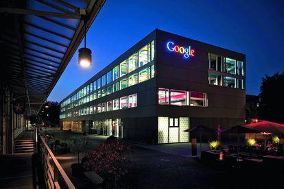 Aspecto de uno de los edificios de oficinas que tiene Google en Zúrich.