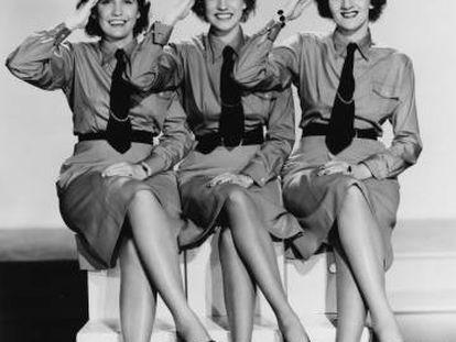 The Andrews Sisters, en una foto de 1941.