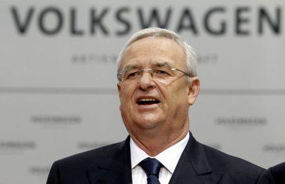 Martin Winterkorn, presidente de Volkswagen