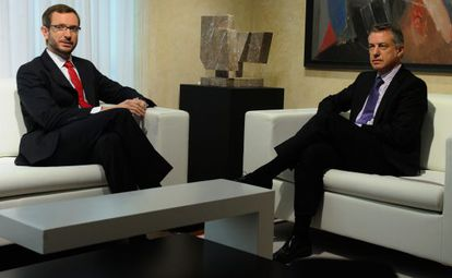 Javier Maroto e Iñigo Urkullu