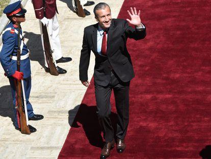El ministro de Petróleo de Venezuela, Tareck El Aissami, el pasado mes de enero.