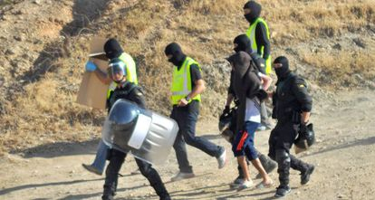 Operativo contra la célula de Al Qaeda en Ceuta de Abdeluahid.