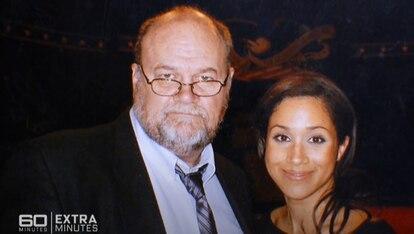 Una de las fotografías cedidas por Thomas Markle junto a su hija Meghan para el programa australiano '60 minutes', emitido el 13 de junio de 2021.