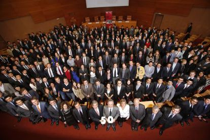 Alumnos y exalumnos del MBA de IESE.