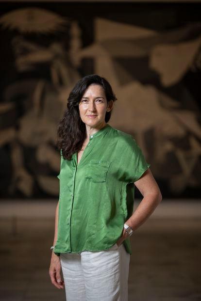 Ángeles González-Sinde, nueva presidenta del patronato del museo Reina Sofia.