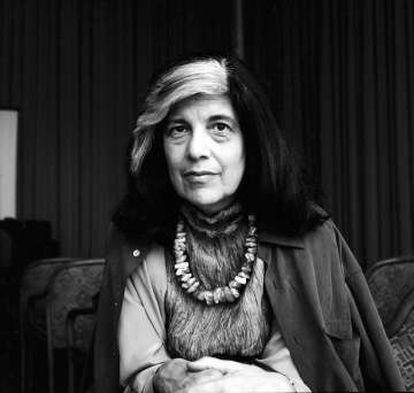 Susan Sontag, fotografiada en Berlín en 1993 por Ekko von Schwichow.
