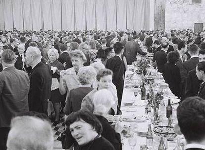 Imagen del 20 de agosto de 1966 del XV Congreso Internacional, que reunió a 4.280 matemáticos en el Kremlin.