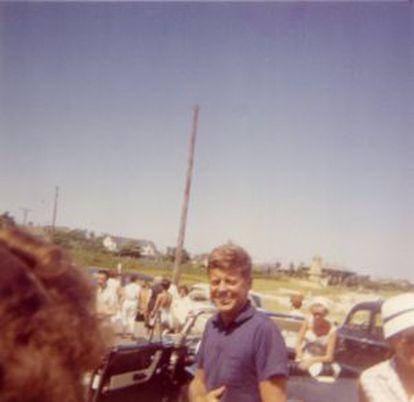 El expresidente Kennedy, en unas vacaciones.