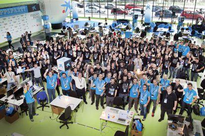 El concurso FinAppsParty reunió a 140 participantes de cinco países.