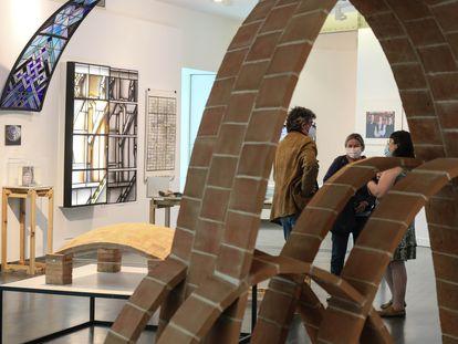 Exposición 'Arquitectura Atemporal' en CentroCentro del Ayuntamientos de Madrid.