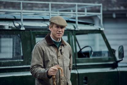El actor Tobias Menzies, en una escena de la cuarta temporada The Crown.