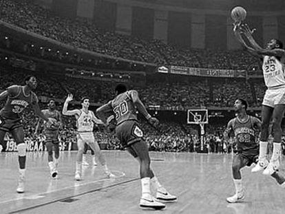 El tiro que valió el inicio de la leyenda de Jordan