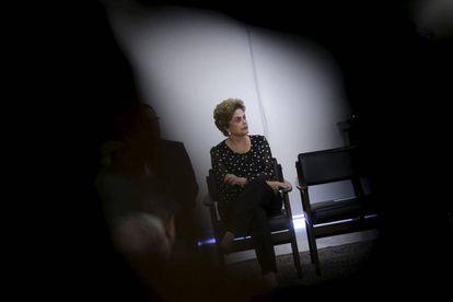 La presidenta Dilma Rousseff, en Brasilia.
