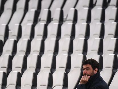 El presidente de la Juventus, Andrea Agnelli.