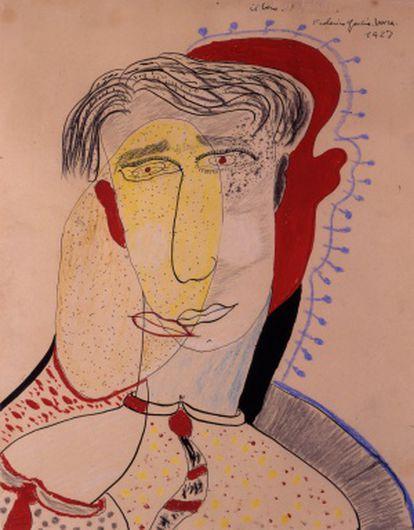 'El beso' (1927), de Federico García Lorca.