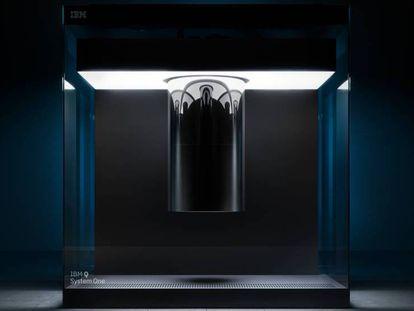 Una imagen del Q System One. En el vídeo, el anuncio del ordenador.