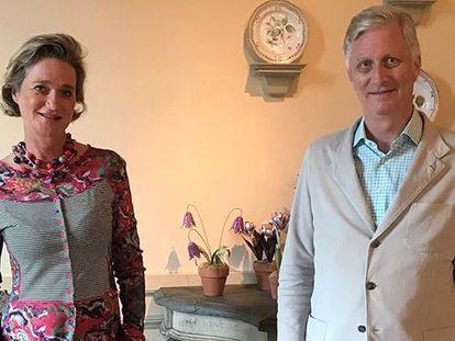 Delphine Boel y Felipe de Belgica