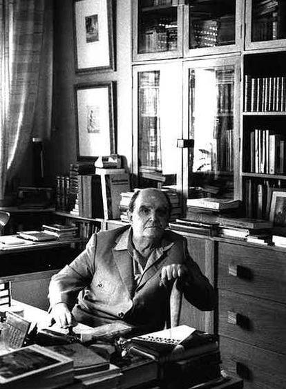 Emilio Sanz de Soto, en Madrid, en 1996.
