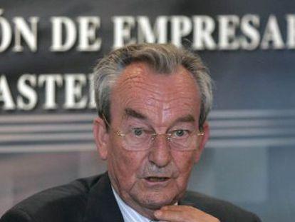 El presidente de la Confederación de Empresarios de Castellón (CEC), José Roca.