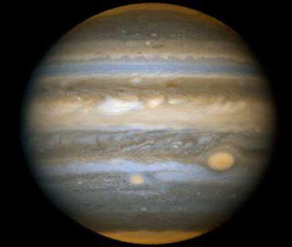 Imagen del planeta Júpiter.