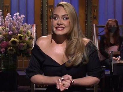 Adele, en el programa 'Saturday Night Live'.
