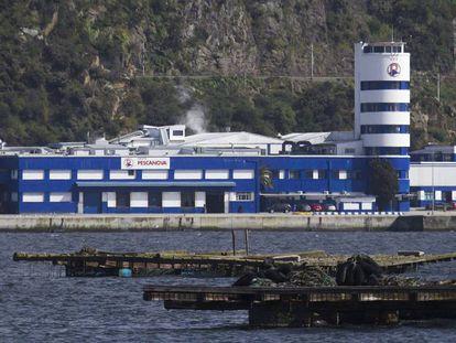 Sede principal en Chapela (Redondela) de la empresa Pescanova.