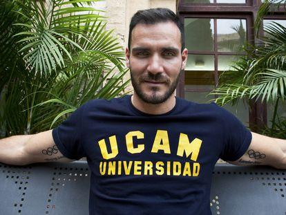 Craviotto, doble campeón olímpico de piragüismo y policía de profesión.
