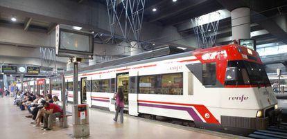 Estación de Cercanías de Atocha (Madrid).