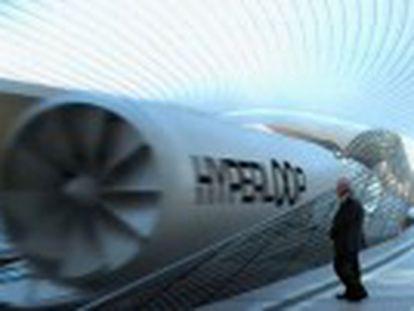 El transporte puede alcanzar los 1.200 kilómetros por hora y es desarrollado en Nevada