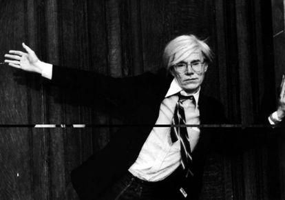 El artista Andy Warhol, en una imagen sin datar.