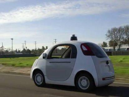 El coche de Google recorrerá las carreteras en los próximos meses.