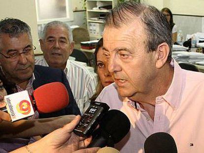 El exalcalde de El Ejido Juan Enciso.