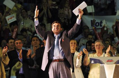 El expresidente de Baleares Jaume Matas, en un acto del Partido Popular en 2003.