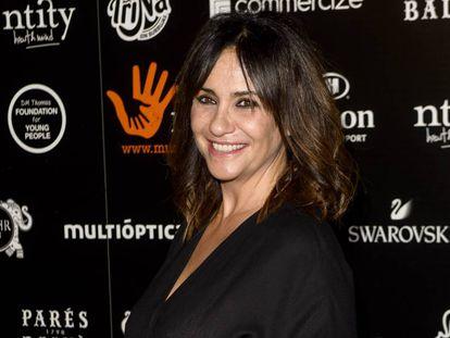 La actriz Melani Olivares, el pasado diciembre.