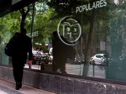 Sede central del PP en la calle Génova de Madrid.