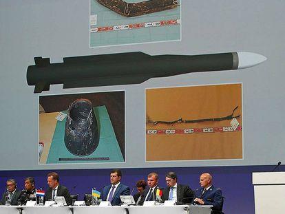 Presentación del nuevo informe sobre el derribo del MH17.