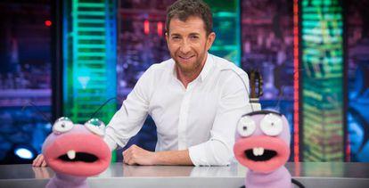 Pablo Motos en El hormiguero, de Antena 3.