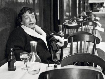 La escritora Marguerite Duras.