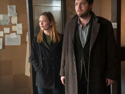 Los protagonistas de 'Cormoran Strike'.