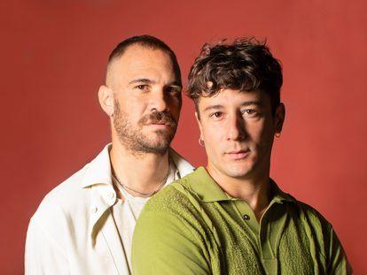 Osama Chami y Enrique Gimeno Pedrós directores de 'El joven Diego'.