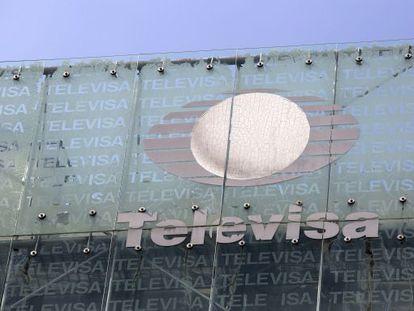 Sede de Televisa en Ciudad de México, en una foto de archivo.
