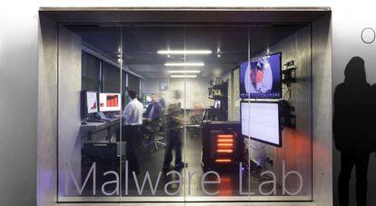 Laboratorio de estudio del 'malware' del Microsoft Cybercrime Center.